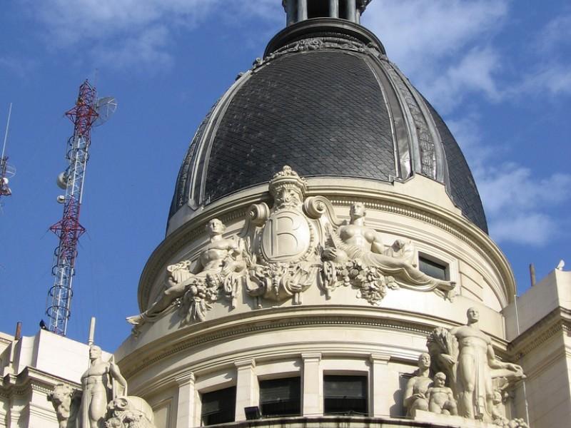 Rosario arquitectura 1929 bolsa de comercio for Arquitectura rosario